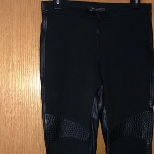 BCBG Leather Legging Pant